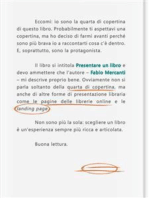 Presentare un libro