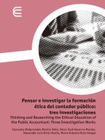 Pensar e investigar la formación ética del contador público: tres investigaciones