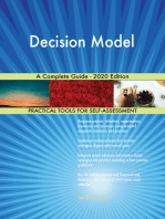 Decision Model A Complete Guide - 2020 Edition