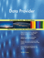 Data Provider A Complete Guide - 2020 Edition