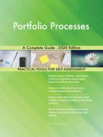 Portfolio Processes A Complete Guide - 2020 Edition