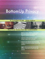 BottomUp Privacy A Complete Guide - 2020 Edition