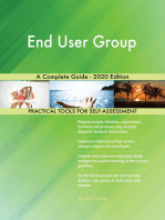 End User Group A Complete Guide - 2020 Edition