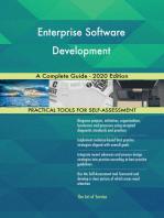 Enterprise Software Development A Complete Guide - 2020 Edition