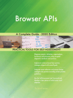 Browser APIs A Complete Guide - 2020 Edition