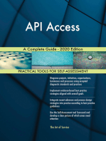 API Access A Complete Guide - 2020 Edition