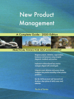 New Product Management A Complete Guide - 2020 Edition