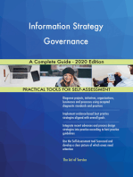 Information Strategy Governance A Complete Guide - 2020 Edition