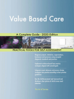 Value Based Care A Complete Guide - 2020 Edition