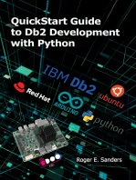 QuickStart Guide to Db2 Development with Python
