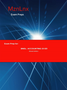 Exam Prep for:: BDNL: Accounting 23 Edition