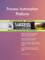 Process Automation Platform A Complete Guide - 2020 Edition