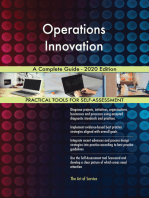 Operations Innovation A Complete Guide - 2020 Edition