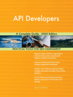 API Developers A Complete Guide - 2020 Edition