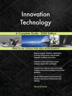 Innovation Technology A Complete Guide - 2020 Edition