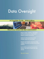 Data Oversight A Complete Guide - 2020 Edition