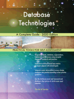 Database Technologies A Complete Guide - 2020 Edition