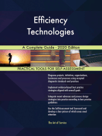 Efficiency Technologies A Complete Guide - 2020 Edition