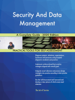 Security And Data Management A Complete Guide - 2020 Edition