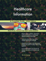Healthcare Information A Complete Guide - 2020 Edition
