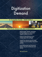 Digitization Demand A Complete Guide - 2020 Edition