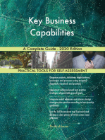 Key Business Capabilities A Complete Guide - 2020 Edition