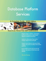 Database Platform Services A Complete Guide - 2020 Edition