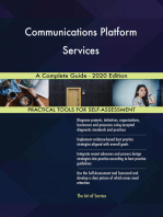 Communications Platform Services A Complete Guide - 2020 Edition