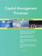 Capital Management Processes A Complete Guide - 2020 Edition