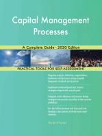 Capital Management Processes A Complete Guide - 2020 Edition
