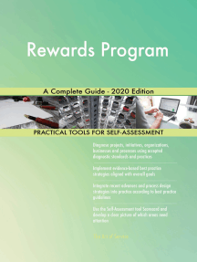 Rewards Program A Complete Guide - 2020 Edition