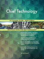 Chief Technology A Complete Guide - 2020 Edition