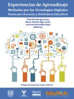 Experiencias de aprendizaje mediadas por las tecnologías digitales::  Pautas para docentes y diseñadores educativos