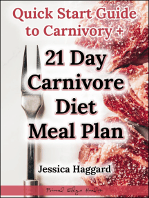 Quick Start Guide to Carnivory + 21 Day Carnivore Diet Meal Plan