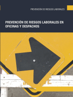 Prevención de riesgos laborales en oficinas y despachos