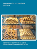 UF0818 - Conservación en pastelería