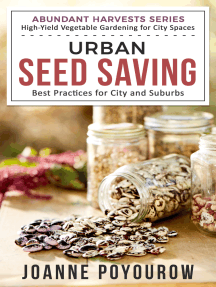 Urban Seed Saving: Best Practices for City and Suburbs