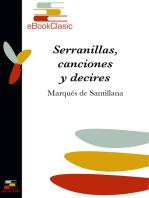 Serranillas, canciones y decires (Anotado)