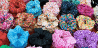Scrunchies Are Little Rainbow Reminders That Millennials Are Old