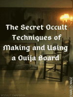 The Secret Occult Techniques of Making and Using a Ouija Board