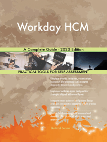 Workday HCM A Complete Guide - 2020 Edition