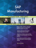 SAP Manufacturing A Complete Guide - 2020 Edition