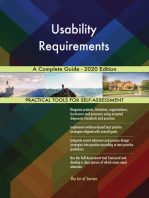 Usability Requirements A Complete Guide - 2020 Edition