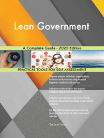 Lean Government A Complete Guide - 2020 Edition
