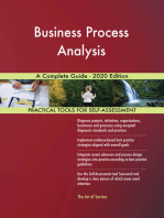 Business Process Analysis A Complete Guide - 2020 Edition
