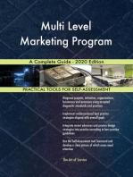 Multi Level Marketing Program A Complete Guide - 2020 Edition
