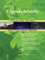 IT Systems Reliability A Complete Guide - 2020 Edition