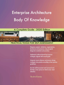 Enterprise Architecture Body Of Knowledge A Complete Guide - 2020 Edition