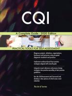 CQI A Complete Guide - 2020 Edition