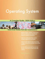Operating System A Complete Guide - 2020 Edition